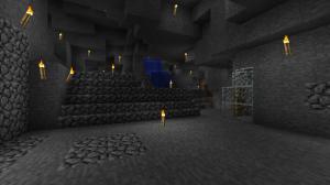 洞窟前線基地