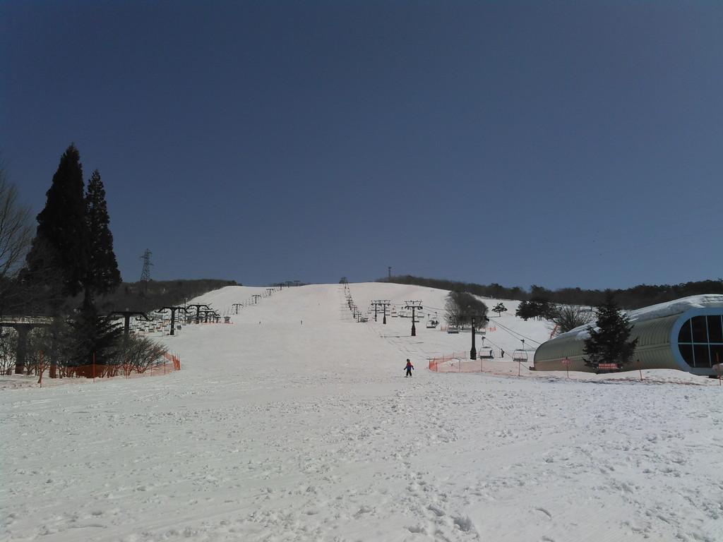今シーズン最後のスキー「ひるがの高原スキー場」