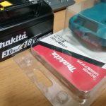 マキタバッテリーの活用(USB用アダプタ)