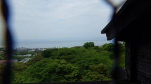天守閣からの眺め