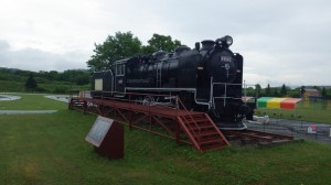 蒸気機関車!