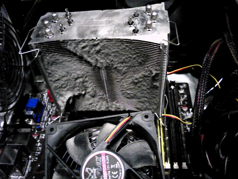 パソコン掃除は大切だね!