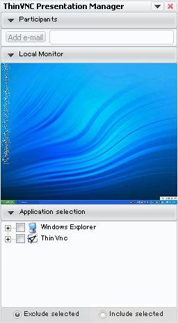 ThinVNC画面