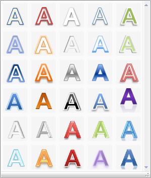 新しいワードアート(Excelにて撮影)