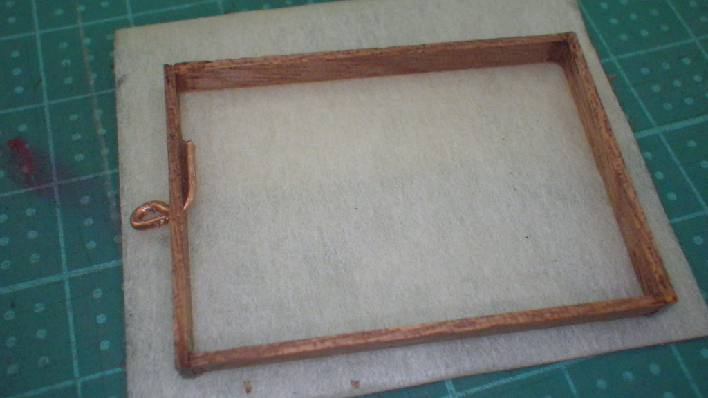 レジン用の木枠作り