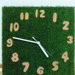 時計作りました。