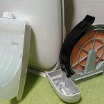 空気清浄機の洗浄