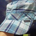 夏用帽子導入! モンベル ワークキャップ
